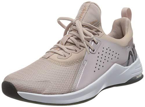 Nike Damen Air Max Bella TR 3 Sneaker, Stone Mauve/Metallic Red Bronze-Metallic Silver-Barely Rose-White-Black, 39 EU