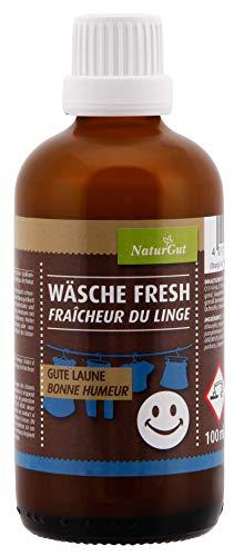 NaturGut Wäsche Fresh - Gute Laune blumiger Wäscheduft 100ml mit frischem Duft von Mandarinen, Grapefruit und Bergamotteöl