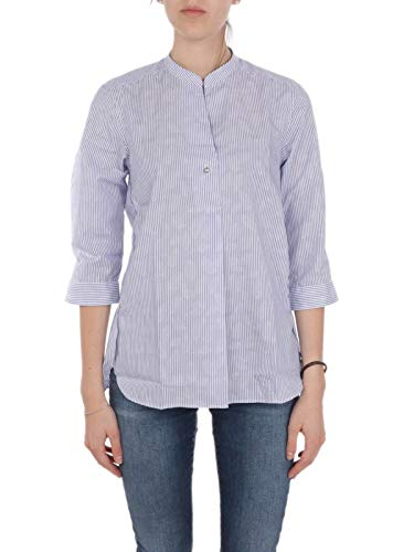 Caliban Luxury Fashion Damen Z9MR2VRB1 Hellblau Baumwolle Hemd | Frühling Sommer 20