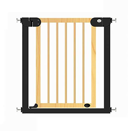 LWJJHJ Pressure Fit veiligheidspoort uitschuifbaar, 77cm hoog hek, hondpoort voor het huis, deuropening, trappen (deurbreedte 76-83cm)