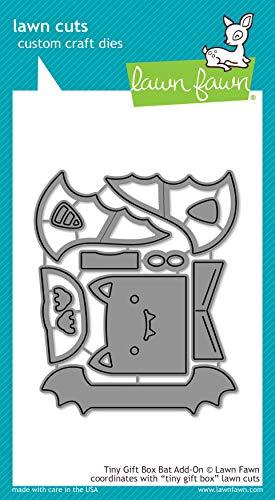 Lawn Cuts Custom Craft Die - Tiny Gift Box Bat Add - On