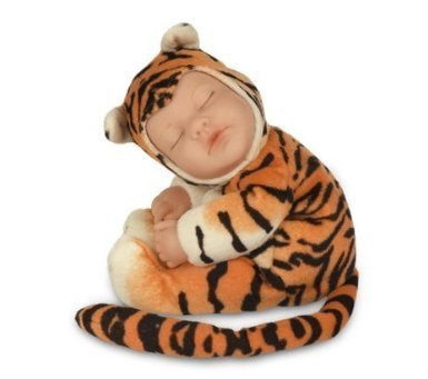 Anne Geddes Baby Tiger Bean Filled Soft Body Doll / Tigre de Bebe Muñeca
