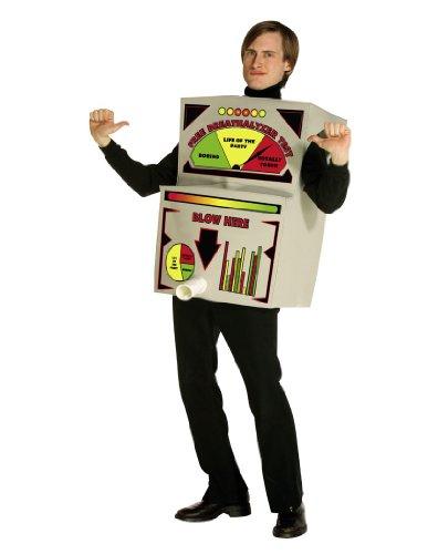 Breathalyzer Costume Costume - One Size - Chest Size 48-52