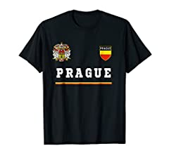 National pride, flag, state, soccer, football, flag, souvenir Gift Futbal coat of arms, Prague Czech Republic National Pride T-shirts Tees Flag Czech Republic Lightweight, Classic fit, Double-needle sleeve and bottom hem