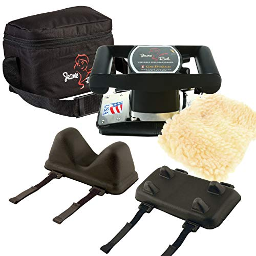 Core Products Jeanie Rub Variable Speed Massager, Deep Tissue Massage, Orbital Action for Back & Body - Professional Package