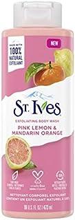 St. Ives Pink Lemon & Mandarin Orange Exfoliating Body Wash 16 Fl Ounces
