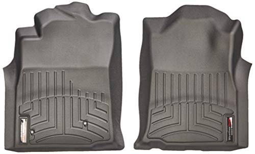 WeatherTech 440211 Custom Fit Front FloorLiner for Toyota Tacoma (Black)