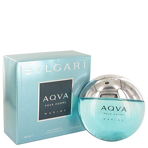 Bvlgari Aqua Marine by Bvlgari Eau De Toilette Spray 5 oz for Men - 100% Authentic