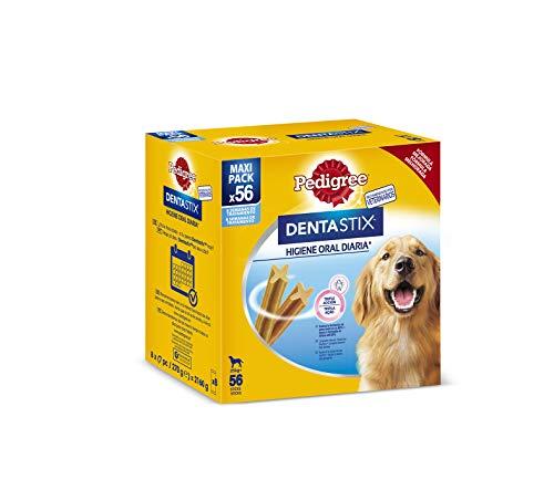 Pedigree Dentastix Lot de 56 Snacks dentaires pour lhygiène bucco-Dentaire des Grands Chiens