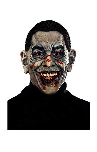 Horror-Shop Zombie Obama Maske
