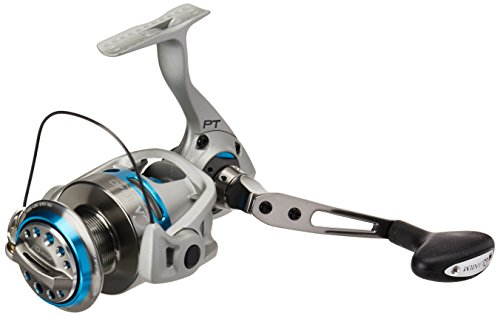 Quantum CSP50PTSE Cabo Spin Saltwater Reel, Blue and Silver Finish