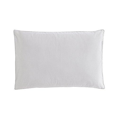 Essix Tempo Taie d'oreiller Coton/Percale de coton Gris 70 x 50 cm