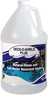 Deck-O-Shield Plus Premium Water-Based Clear Pool Deck Sealer - 1 Gallon by Deck-o-Seal