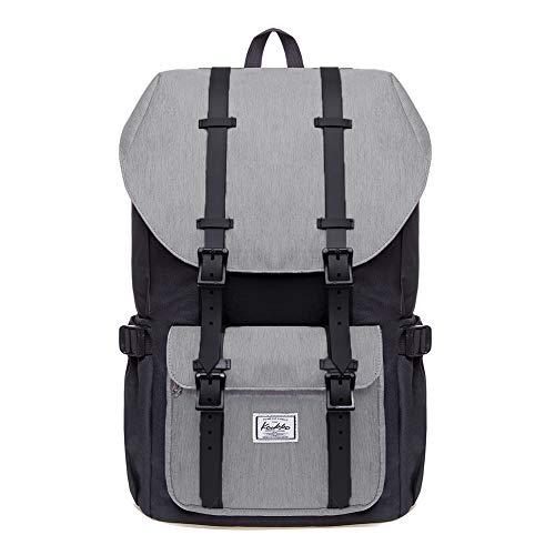 KAUKKO Rucksack Damen Herren Schön und Durchdacht Daypack mit Laptopfach für 15 Zoll Notebook für Schule,Uni, 22L