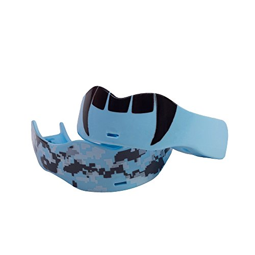 Soldier Sports Fang & Camo Mouthguard, One Size, Baby