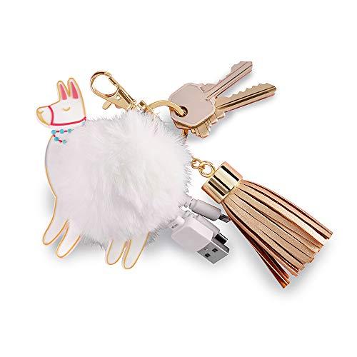 Kate Aspen 11348NA Llama USB-Schlüsselanhänger, Einheitsgröße, goldfarben