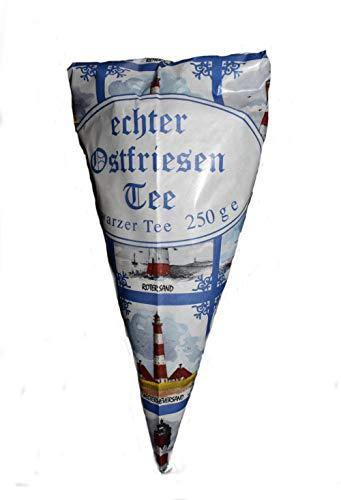 Heiko Blume echter Ostfriesen Tee, loser schwarzer Tee 250g im Spitztütenbeutel