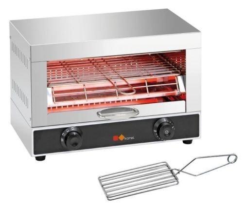 To check- Fornetto Orizzontale A 1 Piano Toaster Bar-Pub