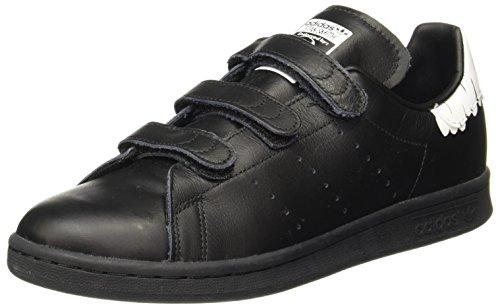 adidas Damen Stan Smith CF Sneaker, Schwarz (Core Black/Core Black/Footwear White), 42 EU