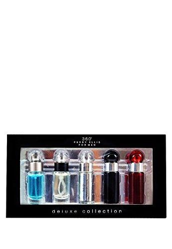 Perry Ellis Set Mini 5 Pzas Perry Ellis Perfumes para Hombre Negro Talla 5 Pzs