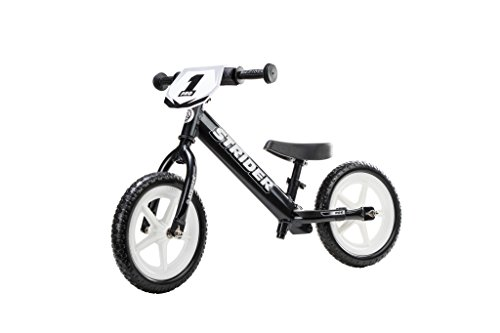 Strider - 12 Pro Balance Bike, Limited Edition Black Pearl