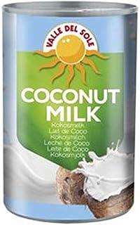 Valle del Sole- Leche de Coco 6% 400 ml (1 caja de 6 unidades)
