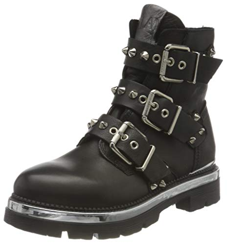 REPLAY Damen LONNER Mode-Stiefel, 003 Black, 41 EU