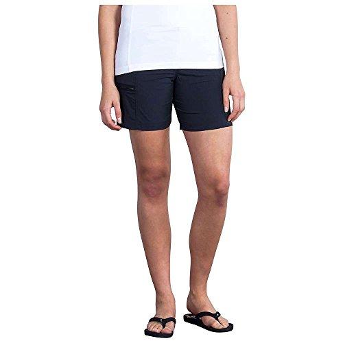 ExOfficio Women's Explorista Shorts, Black, 2