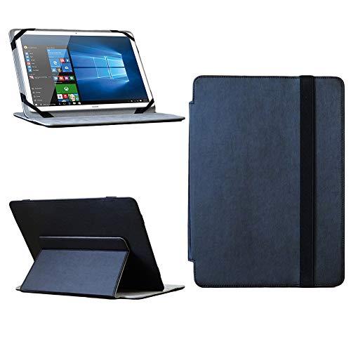 NAUC Huawei MateBook 12 Zoll Tablet Tasche Hülle Cover Schutzhülle Hülle Schwarz