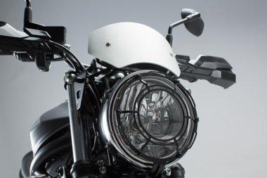 SW-MOTECH: ウィンドスクリーン Silver Suzuki SV650 ABS (15-) 並行輸入品