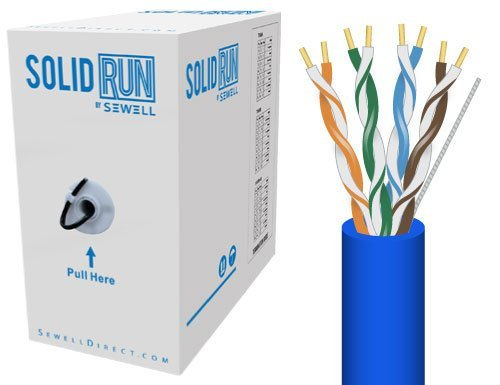 Sewell Direct SW-29899 SolidRun Cat6 Bulk Cable