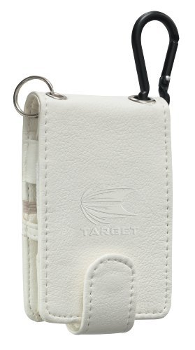 Best Review Of TARGET COMPACT PU POCKET DARTS WHITE