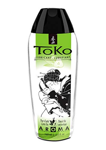 Shunga Toko Lubricante Pear y Exotic Green Tea - 165 ml