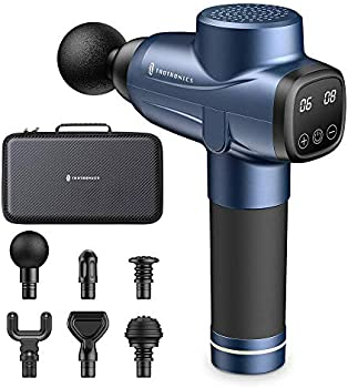 TaoTronics Percussion Muscle Massage Gun with Portable Case