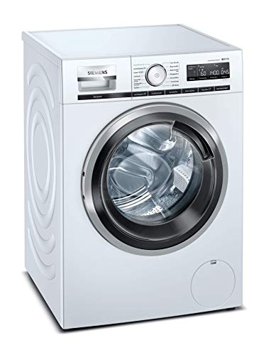 Siemens WM14VL41 iQ700 Waschmaschine / 9kg / B / 1400 U/min / Smart Home kompatibel via Home Connect / sensoFresh-Programm / varioSpeed Funktion / Nachlegefunktion / aquaStop