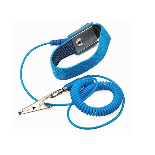 Aituo Anti-Static-Handgelenkband Erdung Handgelenkband Erdungsband ESD-Entladung - verhindert Aufbau von statischer Elektrizität (verkabelt)