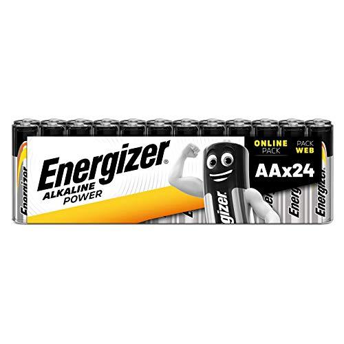 Energizer Batterien AA, Alkaline Power, 24 Stück