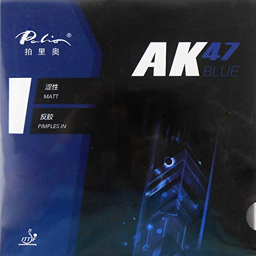 Find Discount Palio AK47 Blue Pips in Table Tennis Rubber Sheet (38-40 Degrees)