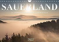Sauerland, zu jeder Jahreszeit ein Naturgenuss (Wandkalender 2022 DIN A4 quer): Das Sauerland ist im Wechsel der vier Jahreszeiten eine besonders reizvolle Ferienregion. (Monatskalender, 14 Seiten )