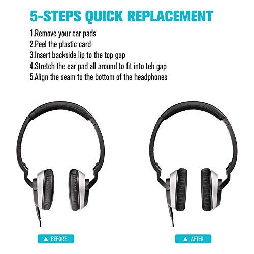 Geekria Earpad for Bose On-Ear OE2 Black-Blue Mesh OE2i Headphone Replacement Ear Pad//Ear Cushion//Ear Cups//Ear Cover//Earpads Repair Parts
