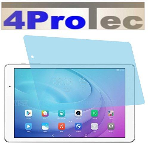 4ProTec I 2 Stück GEHÄRTETE ANTIREFLEX Bildschirmschutzfolie für Huawei MediaPad T2 10.0 Pro Displayschutzfolie Schutzhülle Bildschirmschutz Bildschirmfolie Folie