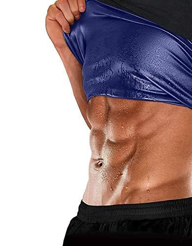 Vantage® Shapewear Vest Belt,Polymer Shapewear, Workout Tank top for Weight Loss Waist Slim Trimmer Tummy Body Slimming hot Belly Burner for Men Women Black and Navy Blue