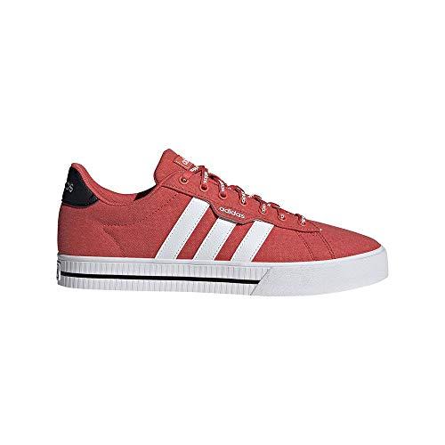adidas Daily 3.0, Zapatillas de Deporte Hombre, ROJTRI/FTWBLA/NEGBÁS, 41 1/3 EU