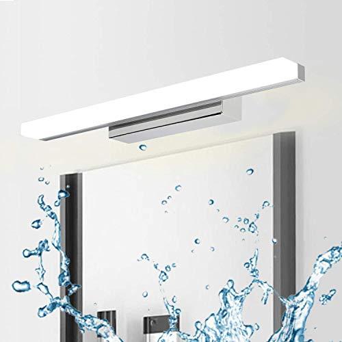 Kimjo Lámpara de Espejo 40CM para Baño, Aplique Espejo Baño 9W Blanco Frío 6000K 900LM IP44 Contra Niebla, AC110-240V No Regulable...