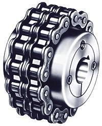 Dodge (Baldor) 099057 - Chain Coupling Hub - 80 Chain, 20 Teeth, 5.38 in Hub OD, Steel