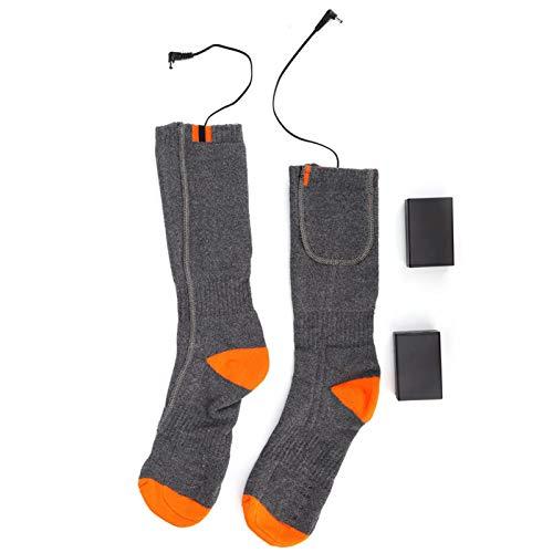 Uxsiya Calcetines cómodos de Invierno Calcetines térmicos Ligeros Convenientes para pies Calientes para el Cuidado de la Salud