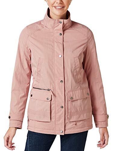 Klepper Damen Aquastop Traveller Jacke Rosa 52