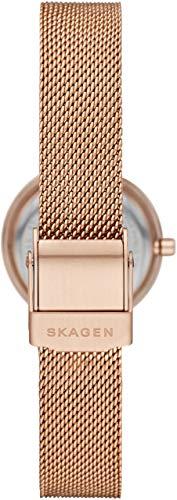 SKAGEN(スカーゲン)『LEONORAローズゴールドトーンスチールメッシュウォッチ(SKW2799)』