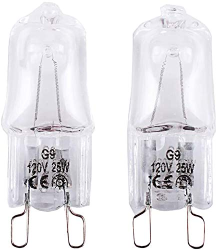 W10709921 Microwave Light Bulbs Compatible with K-itchenaid Jenn-air Whirlpool Ma-ytag Replace for W10112515 AP5983626 PS11722423 AH2338904 1464853 AP4358902 EA2338904 PS2338904 W10208564(2 Pack)