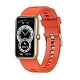 KOPOU Reloj inteligente para mujeres y hombres, monitor de...